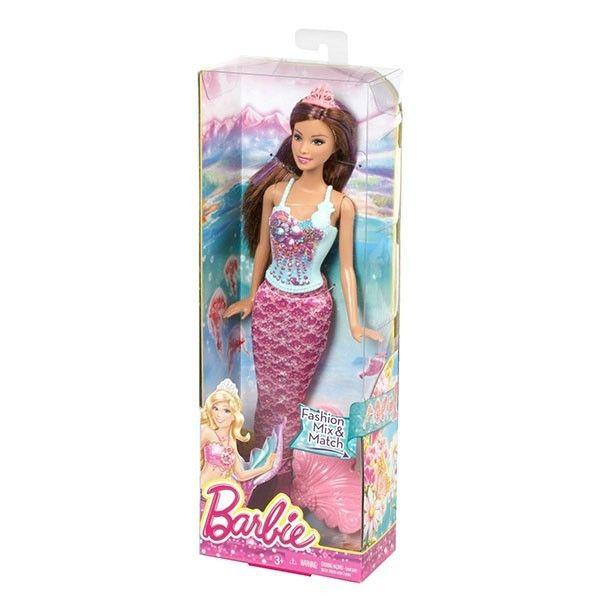 Кукла barbie русалочка серии сочетай и